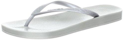 Ipanema Women's Ana Tan Thong Sandal,Silver,9 M US