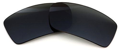 Polarized IKON Replacement Lenses Compatible with Ray Ban RB4034 Sunglasses - Black/Grey