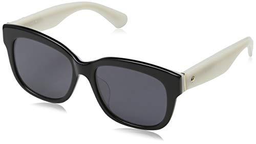Kate Spade Lorelle Women Sunglasses Black White