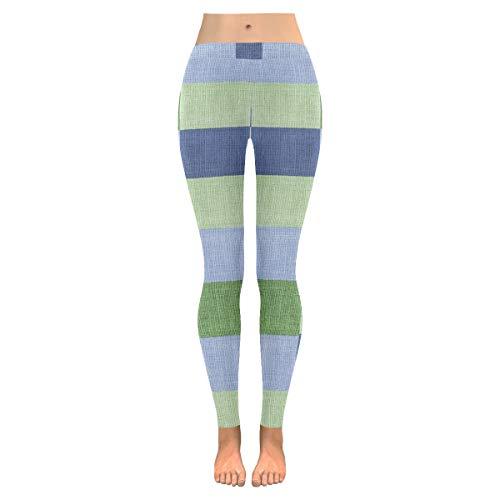 Low Waist Tall Leggings for Women Squatproof Workout Leggings for Women Fabric B