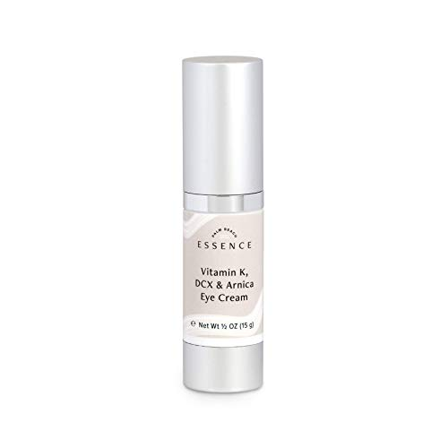 Dark Circle Eye Cream with Vitamin K, DCX & Arnica - Eye Wrinkle Cream, Eye Cream for Puffiness - Reduces Dark Circles, Wrinkles, Puffiness, Discoloration, and Fine Lines