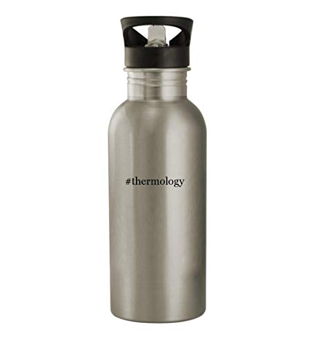 #thermology - 20oz Stainless Steel Water Bottle, Silver