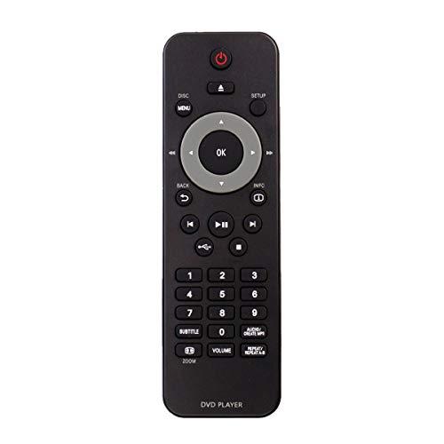AIDITIYMI RC-5340 Remote Control Replace for Philips DVD Video Player DVP4050 DVP6620 DVP3520K DVP3560K 37B DVP 3980 3962 3982 DVP3560 DVP3560/F7 DVP6620/12