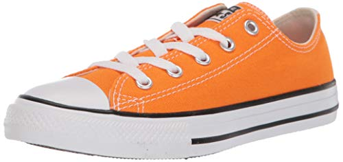 Converse Boys' Chuck Taylor All Star Galaxy Dust Sneaker, Orange Rind/Natural Ivory, 6 M US Big Kid