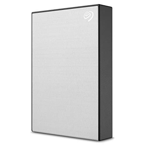 Seagate Backup Plus 5TB External Hard Drive Portable HDD – Silver USB 3.0 for PC Laptop and Mac, 1 year MylioCreate, 2 Months Adobe CC Photography (STHP5000401)