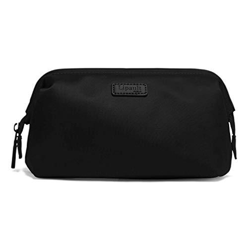 Lipault - Plume Accessories Toiletry Kit - Medium Compact Travel Organizer Bag for Women - Black