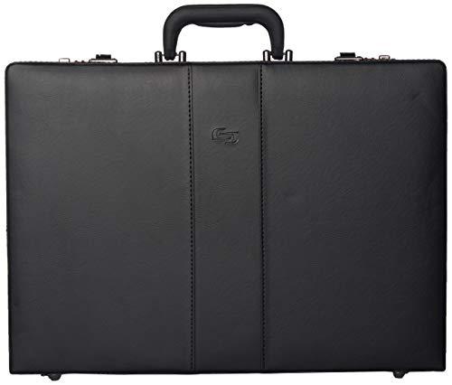 Solo New York Grand Central Attaché Case Briefcase with Combination Locks, Black, One Size