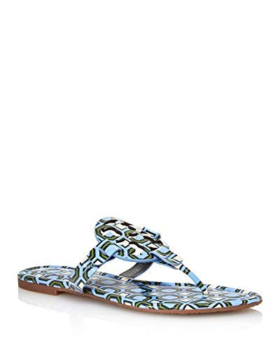 Tory Burch Women's Miller Patent Leather Thong Sandals (7 M US)