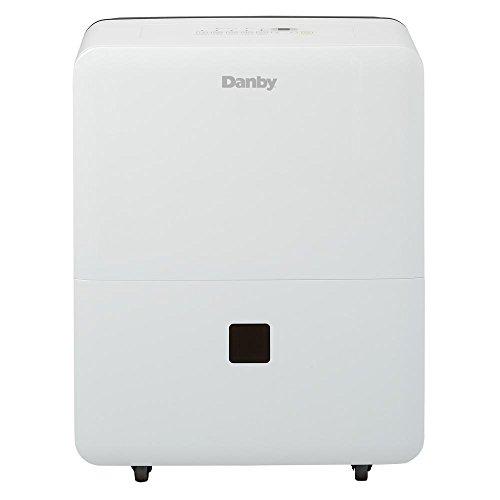 Danby DDR020BJWDB 20 Pint Dehumidifier for Bedroom, Basement, Living Room, White