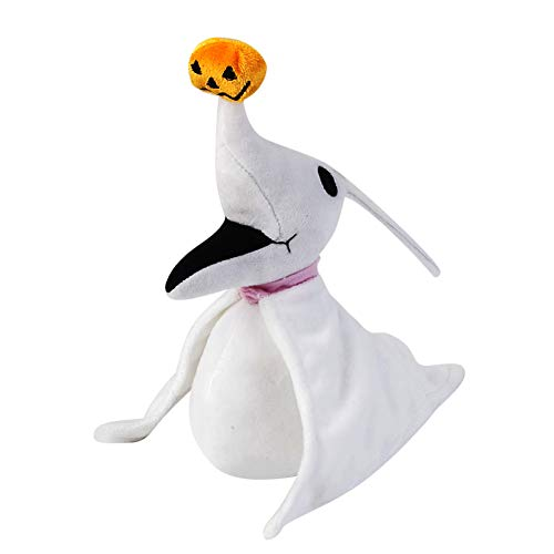 Cuddly-store The Nightmare Before Christmas Zero Stuffed Animal Doll Plush Toy - 8 Inch