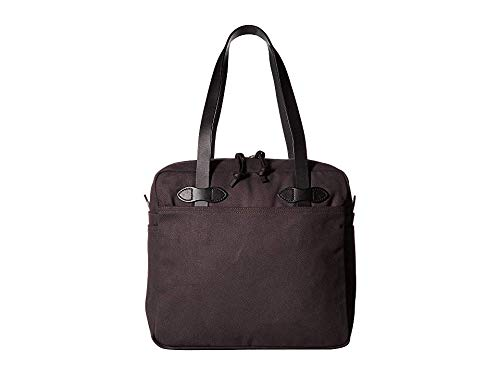 Filson Tote Bag with Zipper, Cinder