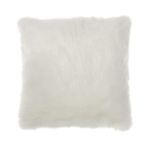 Ashley Furniture Signature Design - Himena Pillow - Contemporary - White