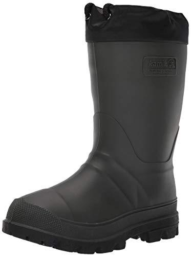 Kamik Men's Hunter Snow Boot, Khaki/Black Sole, 12 M US