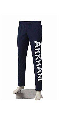 Mak Stitch Unisex Jared LETO Joker Arkham Suicide Squad Halloween Cosplay Coat Jackets Pants (M) Blue