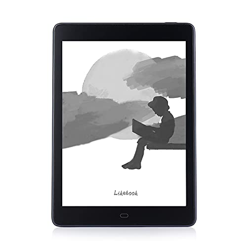 """Likebook E-Reader P78, 7.8"""" Eink Carta Screen, Built-in Cold/Warm Light, Built-in Audible&Speakers, Android 8.1, 2GB+32GB (Blue)"""