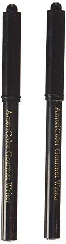 Americolor 2-Count Gourmet Writer Food Decorating Pens, Black