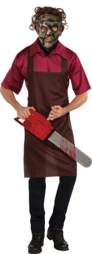 Rubie's Costume The Texas Chainsaw Massacre Halloween Sensations Leatherface, Multicolor, Standard Costume