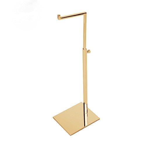 Gold Stainless Steel Adjustable handbag display stand Holder racks …