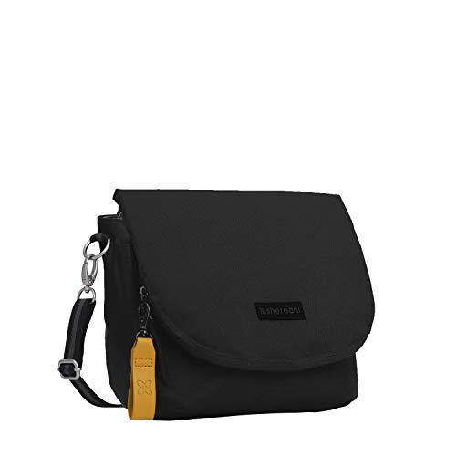 Sherpani Milli, Medium Shoulder Bag, Fashion Crossbody Purse, Essential Messenger Bag for Women, with RFID Protection (Raven)