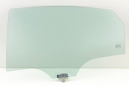 NAGD Driver/Left Side Rear Door Window Glass Replacement for Hyundai Sonata Plug-in/Hybrid 2016-2017