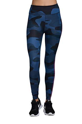 Noli Women's Activewear High-Rise Legging (Warrior Blue, Small)