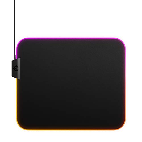 SteelSeries QcK Gaming Surface - Large Cloth - Best Selling Mouse Pad of All Time - Optimized For Gaming Sensors