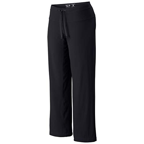 Mountain Hardwear Yumalina Fleece-Lined Pant for Cold Weather Outdoor Activities - Black/Graphite - 4 x 34L