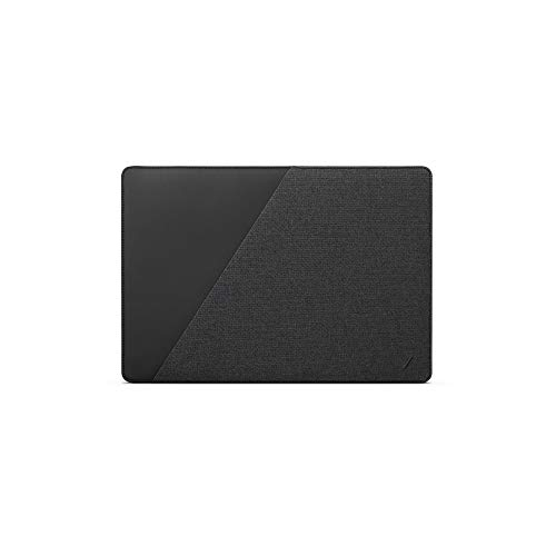 """NATIVE UNION Stow Slim for MacBook Pro 13"""" (2016-2020), MacBook Air 13"""" (Retina) – Premium MacBook Sleeve with Easy-Access Magnetic Closure and Exterior Pocket (Slate)"""