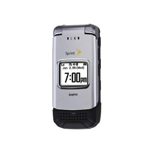 Sanyo Pro 200 Silver Sprint Flip Phone