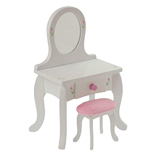 Doll Vanity & Stool for 18' Doll