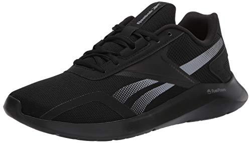 Reebok mens Reebok Energylux 2.0 Running Shoe, Black/Grey/Black, 9.5 US