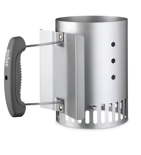 Weber 7447 Compact Rapidfire Chimney Starter , Silver