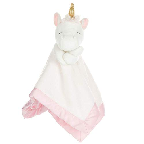 Carter's Unicorn Plush Stuffed Animal Snuggler Blanket