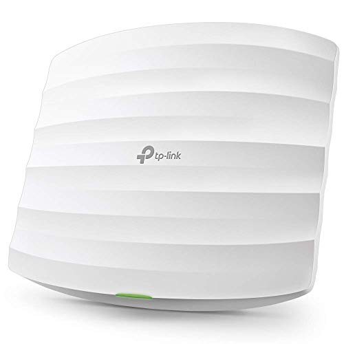 TP-Link Omada AC1350 Gigabit Wireless Access Point   Business WiFi Solution w/ Mesh Support, Seamless Roaming & MU-MIMO   PoE Powered   SDN Integrated   Cloud Access & App for Easy Management (EAP225)