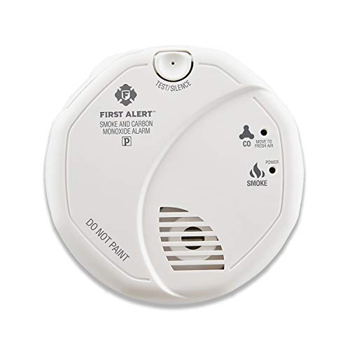 First Alert SCO5CN Combination Smoke and Carbon Monoxide Detector, Battery Operated