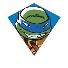X-Kites Teenage Mutant Ninja Turtles 23' Diamond Kite - Leonardo