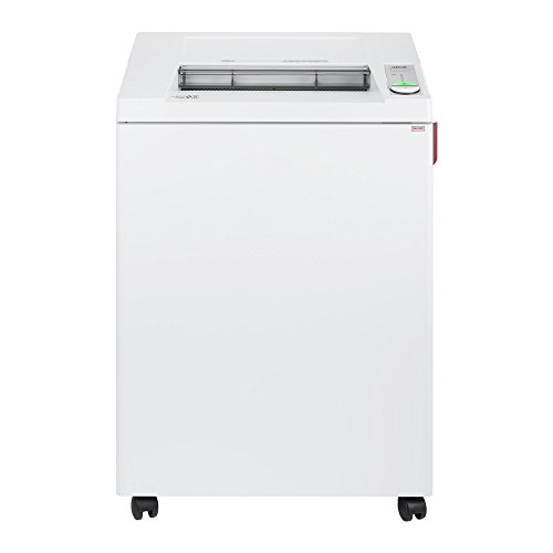 ideal. 3804 Strip Cut Centralized Office Paper Shredder, Continuous Operation, 29-31 Sheet, 44 Gal. Bin, Shred Staples/Paper Clips/Credit Cards/CDs/DVDs, 1 HP Motor, P-2 Security Level