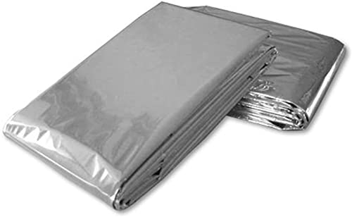 Ever Ready First Aid Emergency Mylar Thermal Blankets - Pack of 20