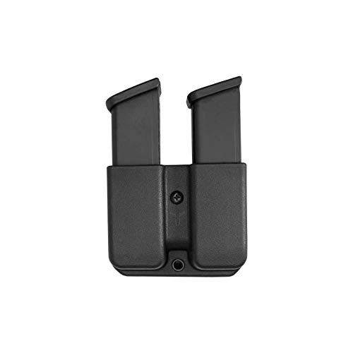 Blade-Tech Signature Double Mag Pouch with Tek-Lok for Glock 17, 19, 22, 23, H&K USP 9/40, H&K VP9 and More