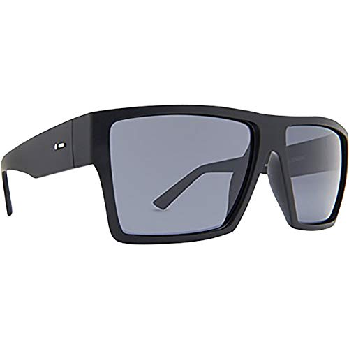 Dot Dash Nillionaire Adult Sunglasses, Black Satin/Grey Polarized One Size