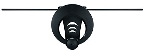ClearStream 1MAX TV Antenna, 40+ Mile Range, Multi-directional, Indoor, Attic, Outdoor, Convenient Keyhole for Easy Installation, All-Weather Mounting Hardware, 4K Ready