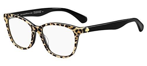 KATE SPADE Eyeglasses ATALINA 0INA Leopard Print Black