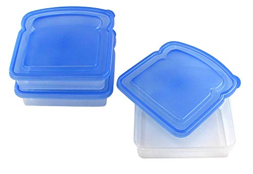 Mainstays Sandwich Containers 3-Pack