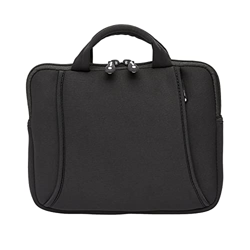 Amazon Basics iPad Air Tablet and Laptop Carrying Case Bag with Handle Fits 7 to 10-Inch Tablets, Black, 1-Pack
