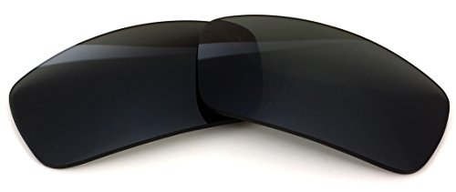 Polarized IKON Replacement Lenses for Ray Ban RB3445 64MM Sunglasses - Black