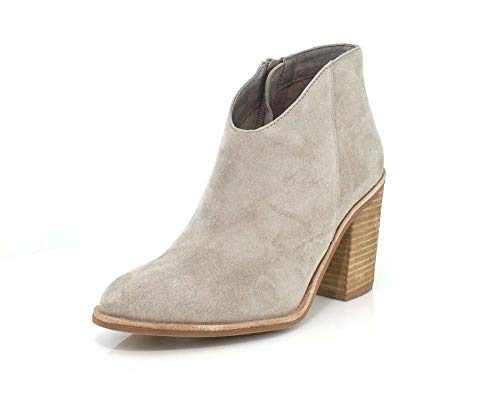 Jeffrey Campbell Womens Kamet Taupe Oiled Suede Boot - 8.5