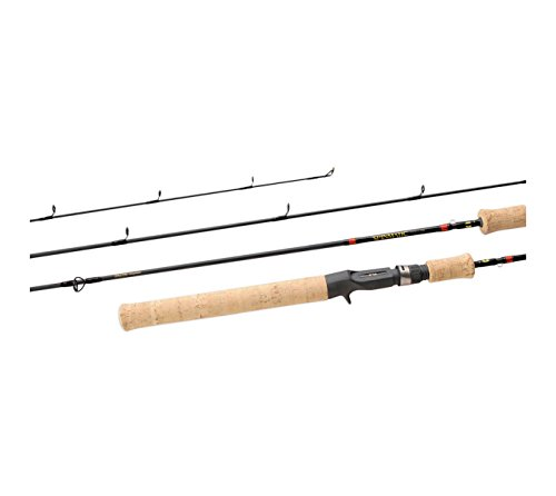 Daiwa SMD802ULFS 2-6 lb Test Rod, Brown