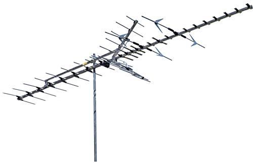Winegard HD7698P Platinum Series Long Range Outdoor TV Antenna (Digital, 4K Ultra-HD Ready, ATSC 3.0 Ready, High-VHF, UHF) - 65+ Mile Long Range HD Antenna