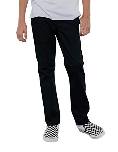 Rsq London Boys Black Skinny Stretch Chino Pants