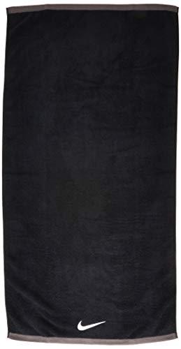 Nike Fundamental Towel, Large, Black/White
